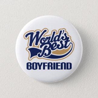World Best Boyfriend Pinback Button