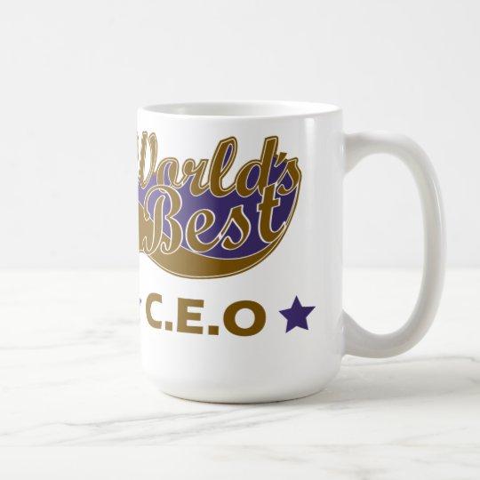 World Best C.E.O Coffee Mug
