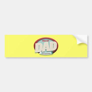 world best dad car bumper sticker