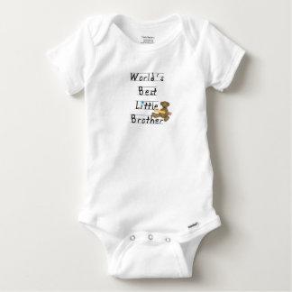 World Best Little Brother Baby Onesie