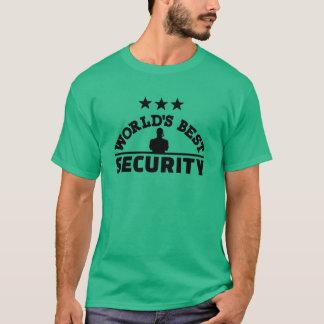World' best security T-Shirt