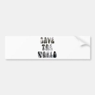 World Bumper Sticker