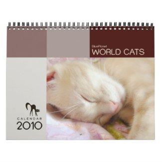 World Cats Calendar 2010 calendar