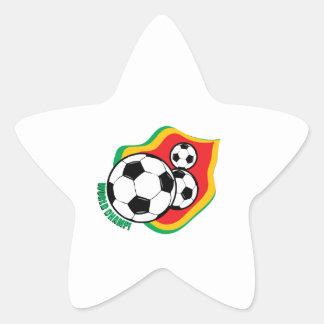 World Champ! Star Sticker