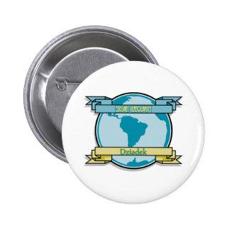 World Champion Dziadek Pinback Button