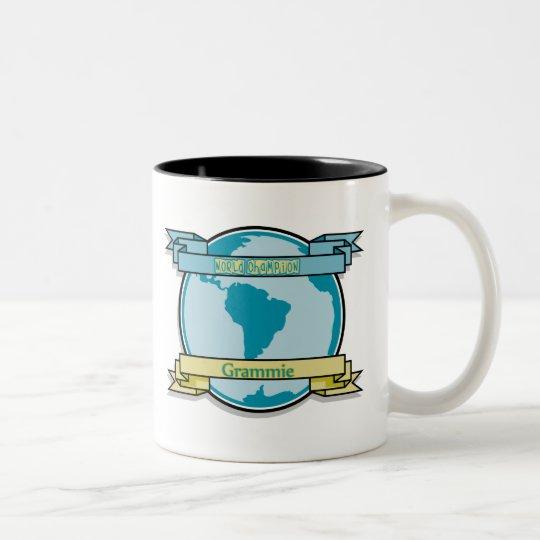 World Champion Grammie Two-Tone Coffee Mug