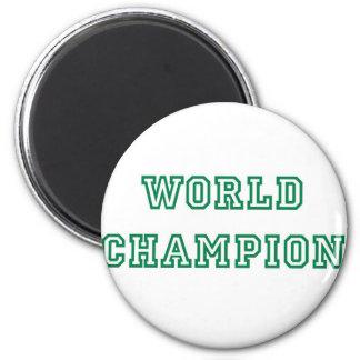 World Champion Refrigerator Magnets