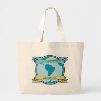World Champion MomMom Jumbo Tote Bag