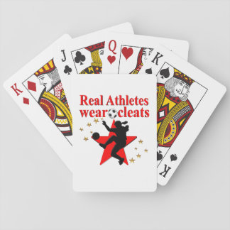 WORLD CHAMPION SOCCER PLAYER PLAYING CARDS