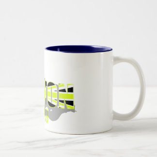 World Champion style Button 2009 Tees & gifts Two-Tone Coffee Mug