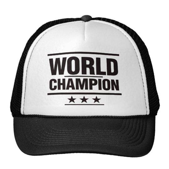 World Champion Trucker Hat