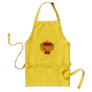 World Champions 2010 Spain Adult Apron
