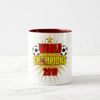 World Champions 2010 Spain Two-Tone Coffee Mug