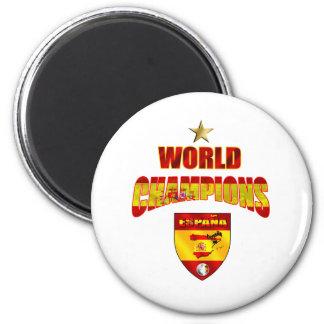 World champions España 2 Inch Round Magnet