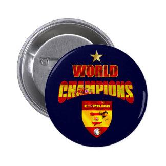 World champions España 2 Inch Round Button
