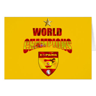 World champions España Card