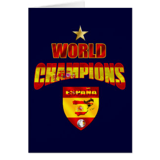 World champions España Greeting Card