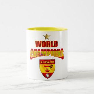 World champions España Two-Tone Coffee Mug