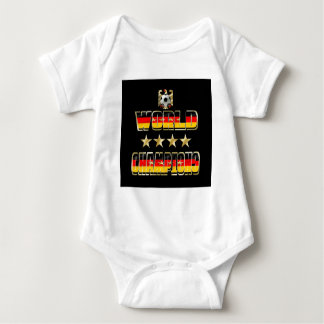 World Champions Germany Fans Flag 2014 Baby Bodysuit