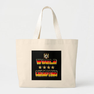 World Champions Germany Fans Flag 2014 Tote Bag