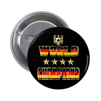 World Champions Germany Fans Flag 2014 Buttons