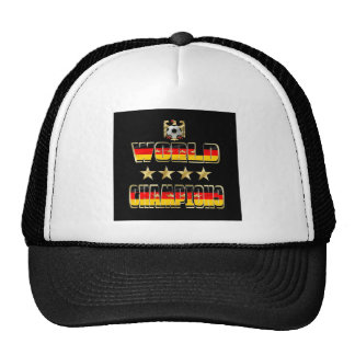 World Champions Germany Fans Flag 2014 Trucker Hat