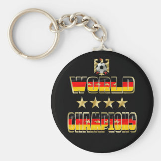 World Champions Germany Fans Flag 2014 Keychains