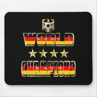 World Champions Germany Fans Flag 2014 Mouse Pad