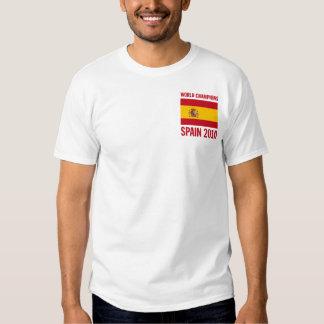 World Champions Spain 2010 Tee Shirt