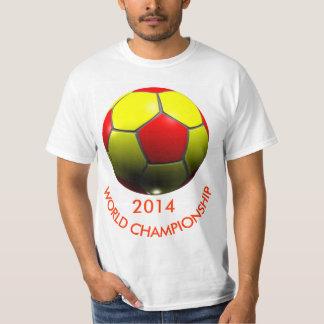 WORLD CHAMPIONSHIP 3D SOCCER BALL T-SHIRT
