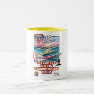 world championship  mug. Two-Tone coffee mug