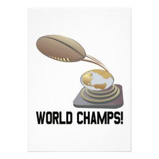 World Champs Custom Invites