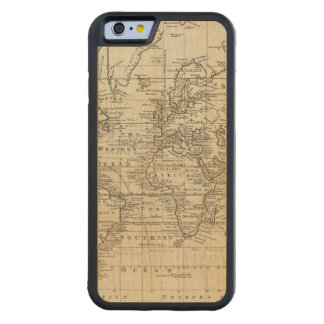 World Chart Carved® Maple iPhone 6 Bumper
