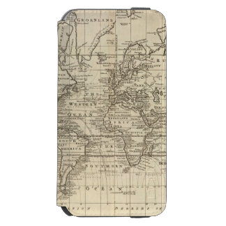 World Chart iPhone 6/6s Wallet Case