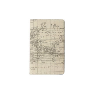 World Chart Pocket Moleskine Notebook Cover With Notebook