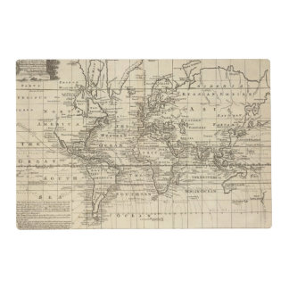 World Chart Placemat