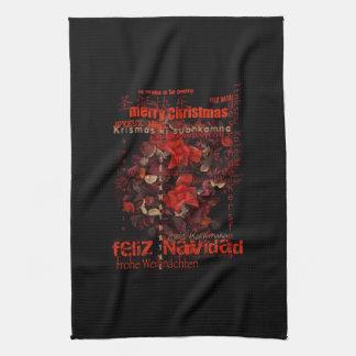 World Christmas Feliz Navidad Joyeux Noel - Towels