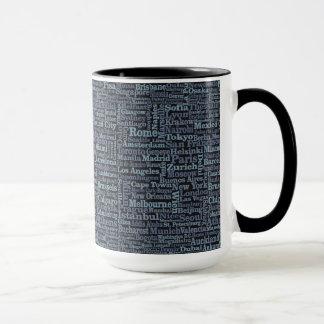 World Cities mugs