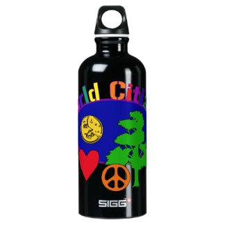 World Citizen Aluminum Water Bottle