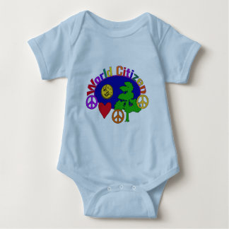 World Citizen Baby Bodysuit
