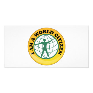 World Citizen Badge by World Service Authority Card