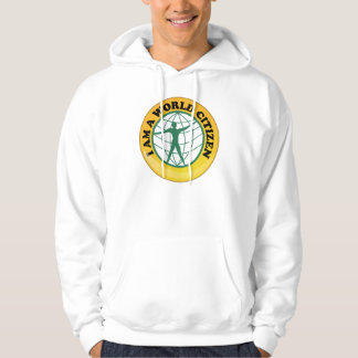 World Citizen Badge by World Service Authority Hoodie
