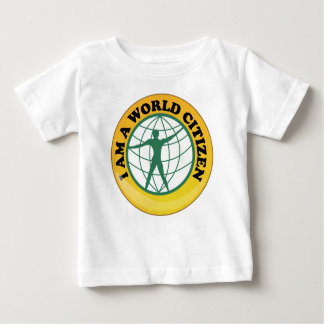 World Citizen Badge by World Service Authority T Shirt