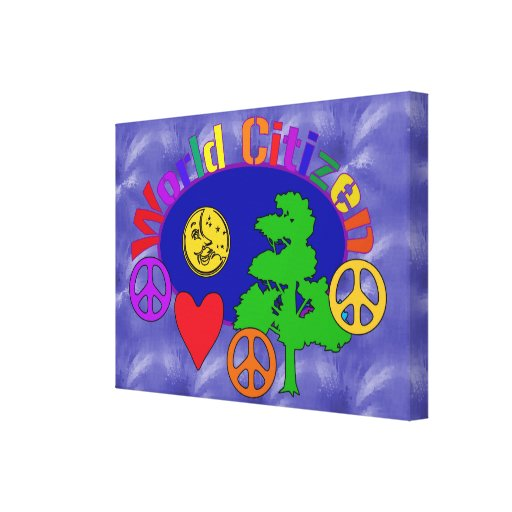 World Citizen Gallery Wrapped Canvas