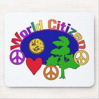 World Citizen Mouse Pad