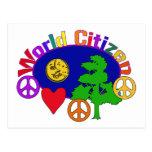 World Citizen Post Card