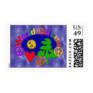 World Citizen Postage Stamp