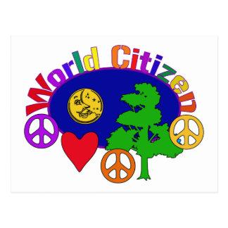 World Citizen Postcard