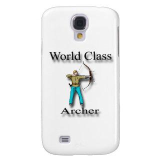 World Class Archer black Galaxy S4 Case