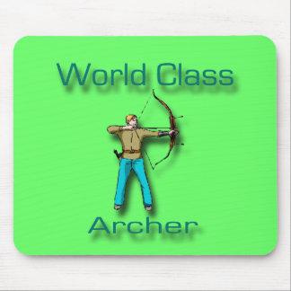 World Class Archer blue Mouse Pad